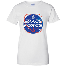 Load image into Gallery viewer, White Trump Space Force T-shirt