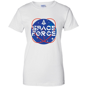White Trump Space Force T-shirt