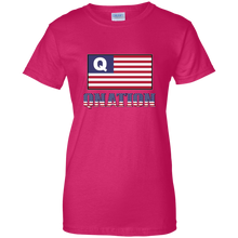 Load image into Gallery viewer, Pink Qnation Q/Qanon T-shirt