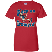 Load image into Gallery viewer, Red Keep On Trumpin T-shirt