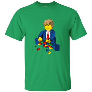 Green Trump Lego Kid's T-shirt