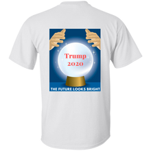 Load image into Gallery viewer, White Trump 2020 The Future Looks Bright T-shirt
