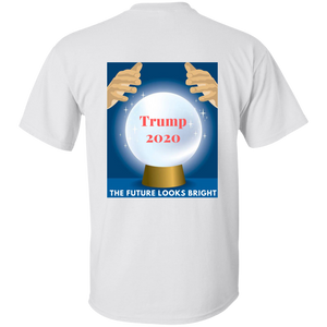 White Trump 2020 The Future Looks Bright T-shirt