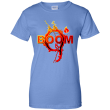 Load image into Gallery viewer, Blue Qanon Q Boom T-shirt