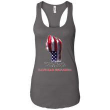 Load image into Gallery viewer, Charcoal Grey We The People Women's Tank Top