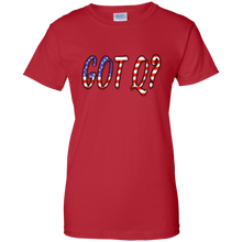 Load image into Gallery viewer, Red Got Q American Flag Q/Qanon T-shirt