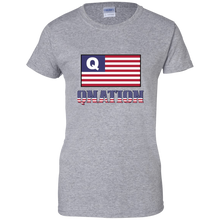 Load image into Gallery viewer, Grey Qnation Q/Qanon T-shirt