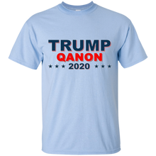 Load image into Gallery viewer, Light Blue Qanon Trump Qanon 2020 T-shirt