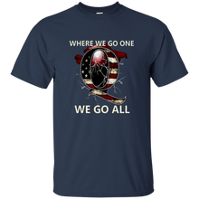 Load image into Gallery viewer, Navy Blue Q WWG1WGA Q/Qanon T-shirt