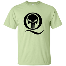 Load image into Gallery viewer, Pistachio Q Skull Q/Qanon T-shirt