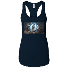 Load image into Gallery viewer, Navy Trump Qanon Q/Qanon Tank Top