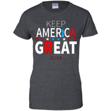 Load image into Gallery viewer, Grey Trump - Keep America Great T-shirt