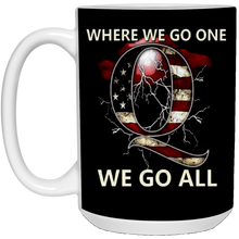 Load image into Gallery viewer, Qanon Q WWG1WGA Ceramic Mug
