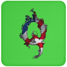 Load image into Gallery viewer, Patriotic Apparel & Accessories Qanon/Q Coaster