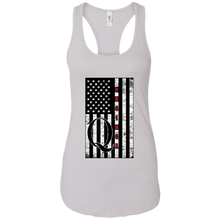 Load image into Gallery viewer, White Qanon WWG1WGA Flag Women's Tank Top