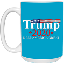 Load image into Gallery viewer, Blue Trump 2020 Keep America Great Mug