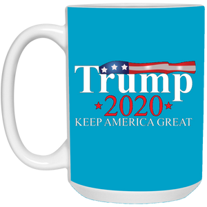 Blue Trump 2020 Keep America Great Mug