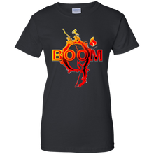 Load image into Gallery viewer, Black Qanon Q Boom T-shirt