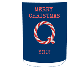 Load image into Gallery viewer, Merry Christmas Q You Mug - Red