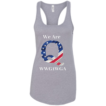 Load image into Gallery viewer, Grey We Are Q WWG1WGA Tank Top