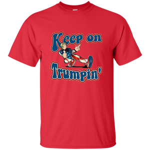 Red Trump Keep On Trumpin Kids T-shirt