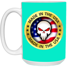 Load image into Gallery viewer, Turquoise Joe M Logo Qanon Mug