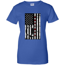 Load image into Gallery viewer, Royal Blue Qanon WWG1WGA Flag Women's T-shirt