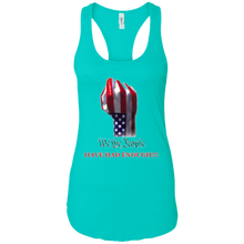 Load image into Gallery viewer, Blue We The People Women's Tank Top