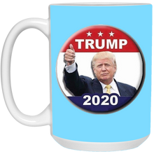 Load image into Gallery viewer, Light Blue Trump 2020 Ceramic Mug
