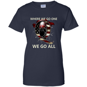 Dark Heather Q WWG1WGA Q/Qanon T-shirt