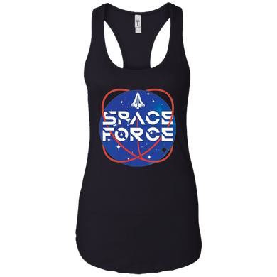 Black Trump Space Force Tank Top