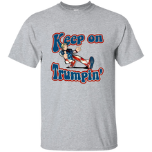 Load image into Gallery viewer, Grey Trump Keep On Trumpin Kids T-shirt