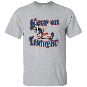 Grey Trump Keep On Trumpin Kids T-shirt