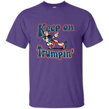 Load image into Gallery viewer, Purple Trump Keep On Trumpin Kids T-shirt
