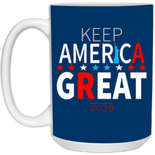 Load image into Gallery viewer, Royal Blue Trump - Keep America Great Mug