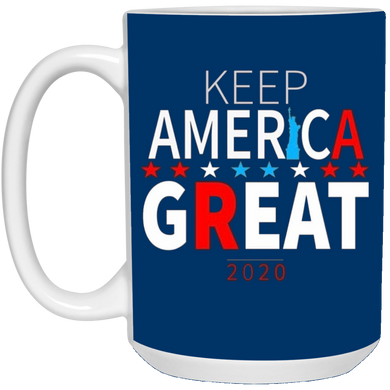 Royal Blue Trump - Keep America Great Mug