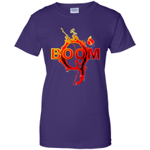 Load image into Gallery viewer, Purple Qanon Q Boom T-shirt