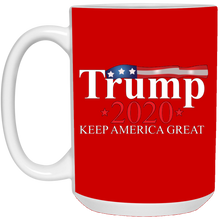 Load image into Gallery viewer, Red Trump 2020 Keep America Great Mug