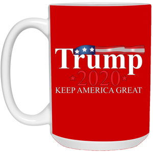 Red Trump 2020 Keep America Great Mug