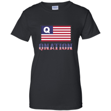 Load image into Gallery viewer, Black Qnation Q/Qanon T-shirt