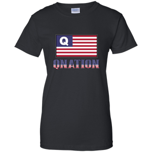 Black Qnation Q/Qanon T-shirt