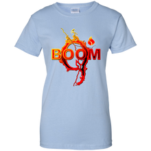 Load image into Gallery viewer, Light Blue Qanon Q Boom T-shirt