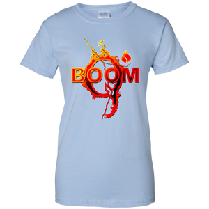 Light Blue Qanon Q Boom T-shirt