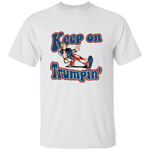 Load image into Gallery viewer, White Trump Keep On Trumpin Kids T-shirt