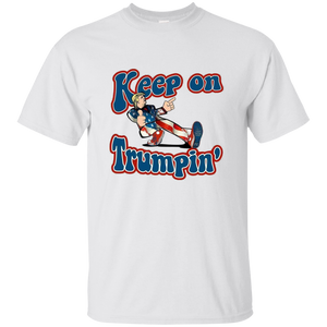 White Trump Keep On Trumpin Kids T-shirt