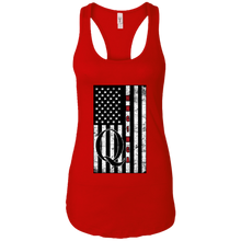 Load image into Gallery viewer, Red Qanon WWG1WGA Flag Women's Tank Top