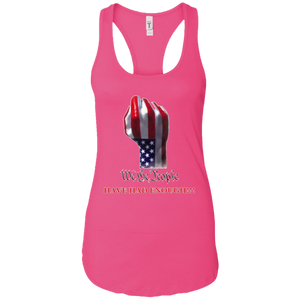 Pink We The People Women's Tank Top