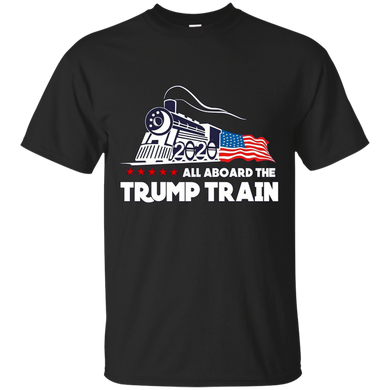 All Aboard The Trump Train Men's T-shirt