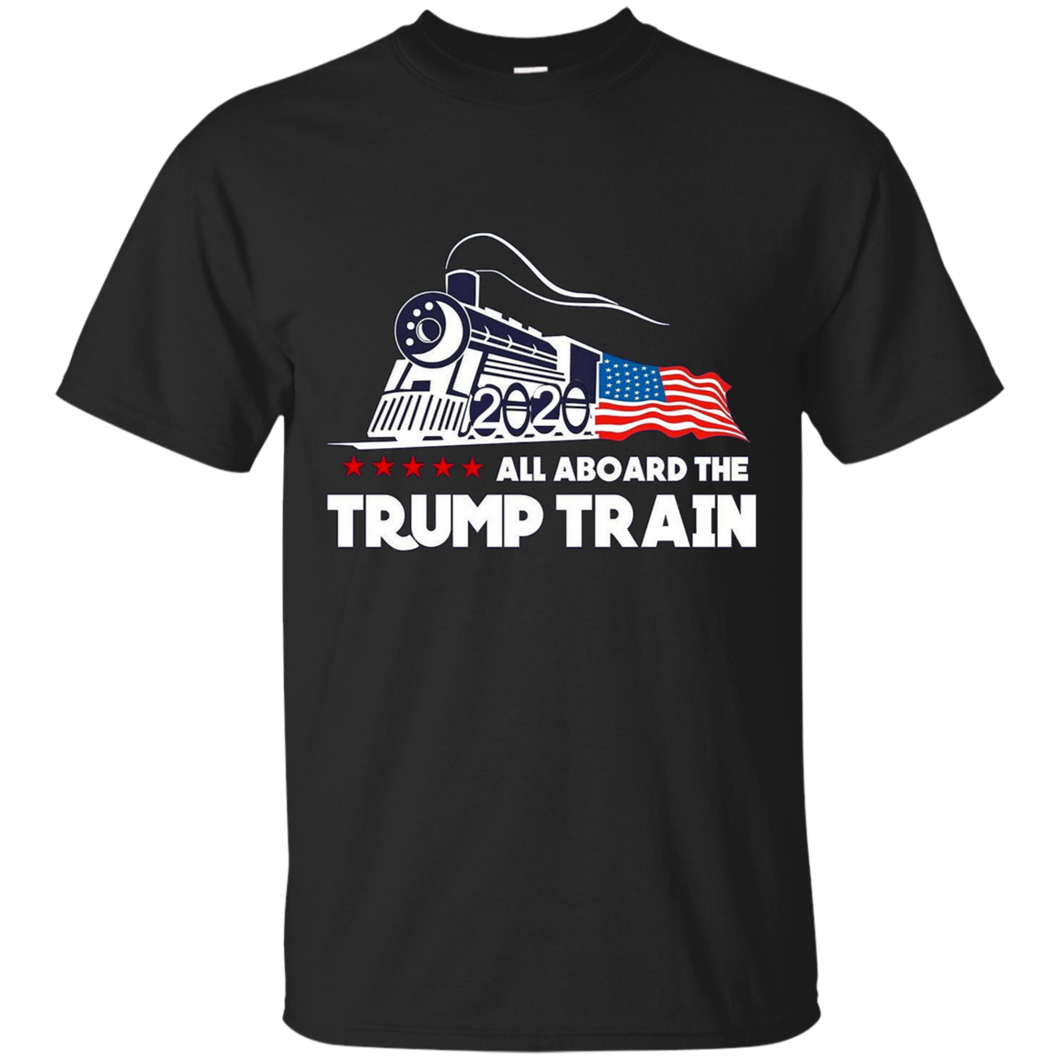Trump All Aboard The Trump Train Men's T-shirt