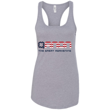 Load image into Gallery viewer, Grey Qanon The Great Awakening Tank Top